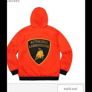 Supreme x Lamborghini Hooded Work Jacket